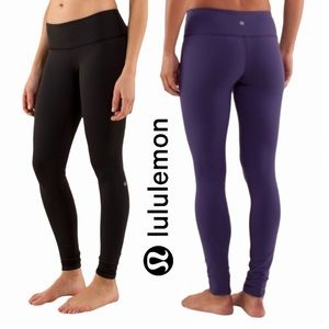 Lululemon Athletica Reversible Wunder Under Pant